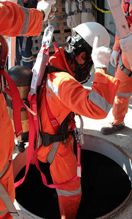 ANTI-FALL PPE / CONFINED SPACES